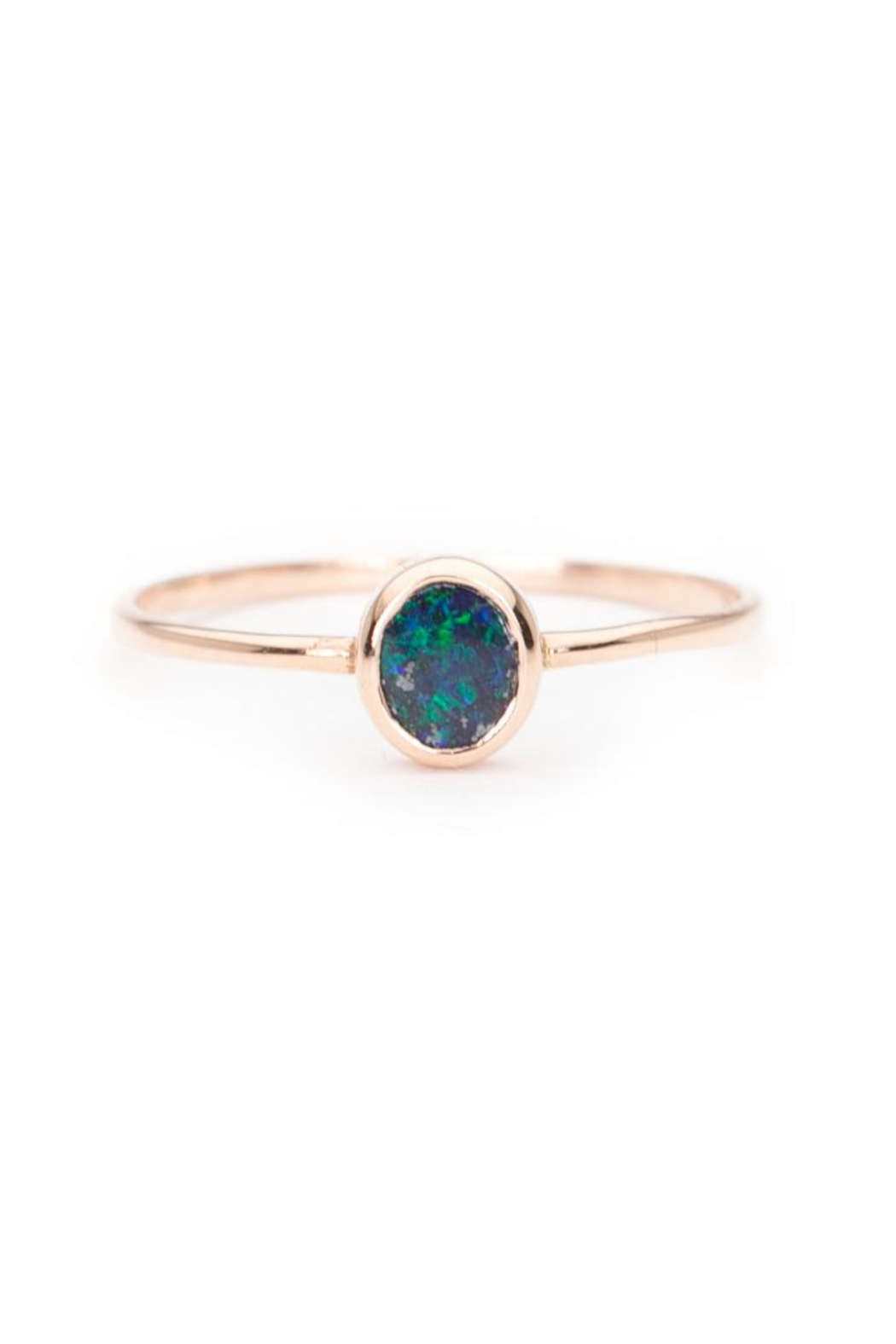 WEISS JEWELRY Opal Threader Ring from Los Angeles by Weiss ...