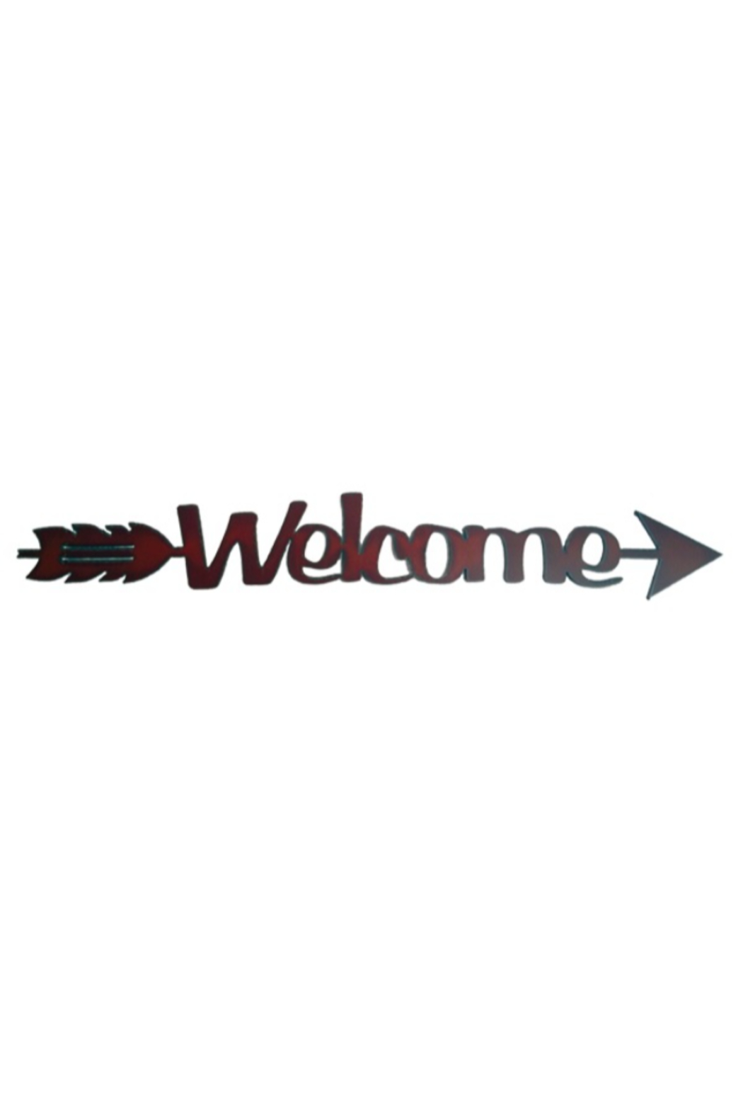 Rustic Ironwerks Welcome Rustic Metal Sign - Main Image