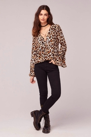 Band Of Gypsies WELCOME TO THE JUNGLE BLOUSE - Front full body