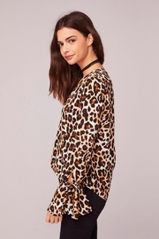 Band Of Gypsies WELCOME TO THE JUNGLE BLOUSE - Side cropped