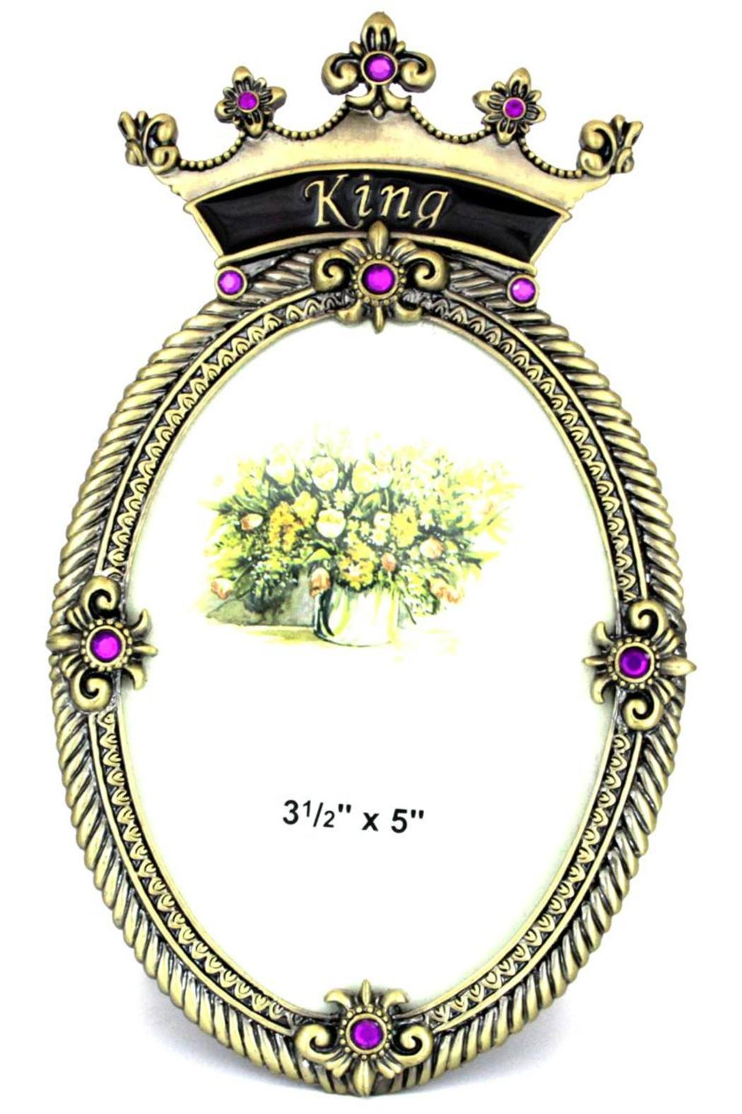 Welforth Inc. Crown Frame King - Front Cropped Image