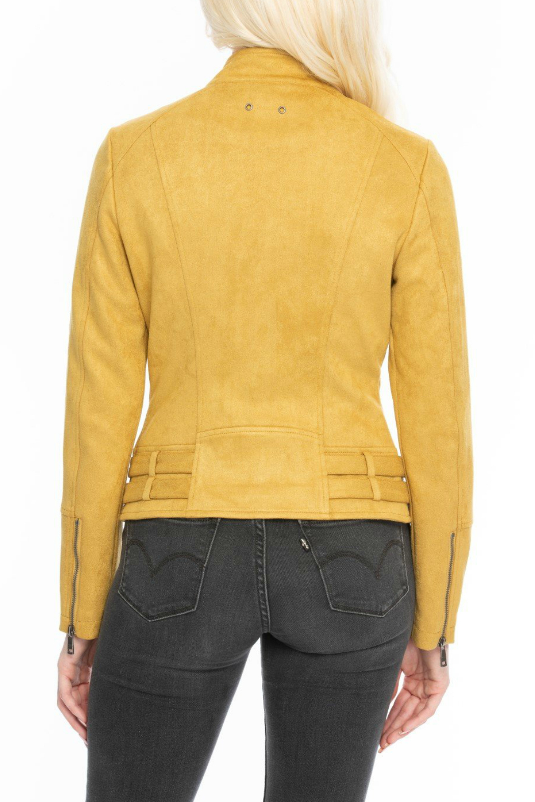 Coalition Well suede jacket - Front Full Image