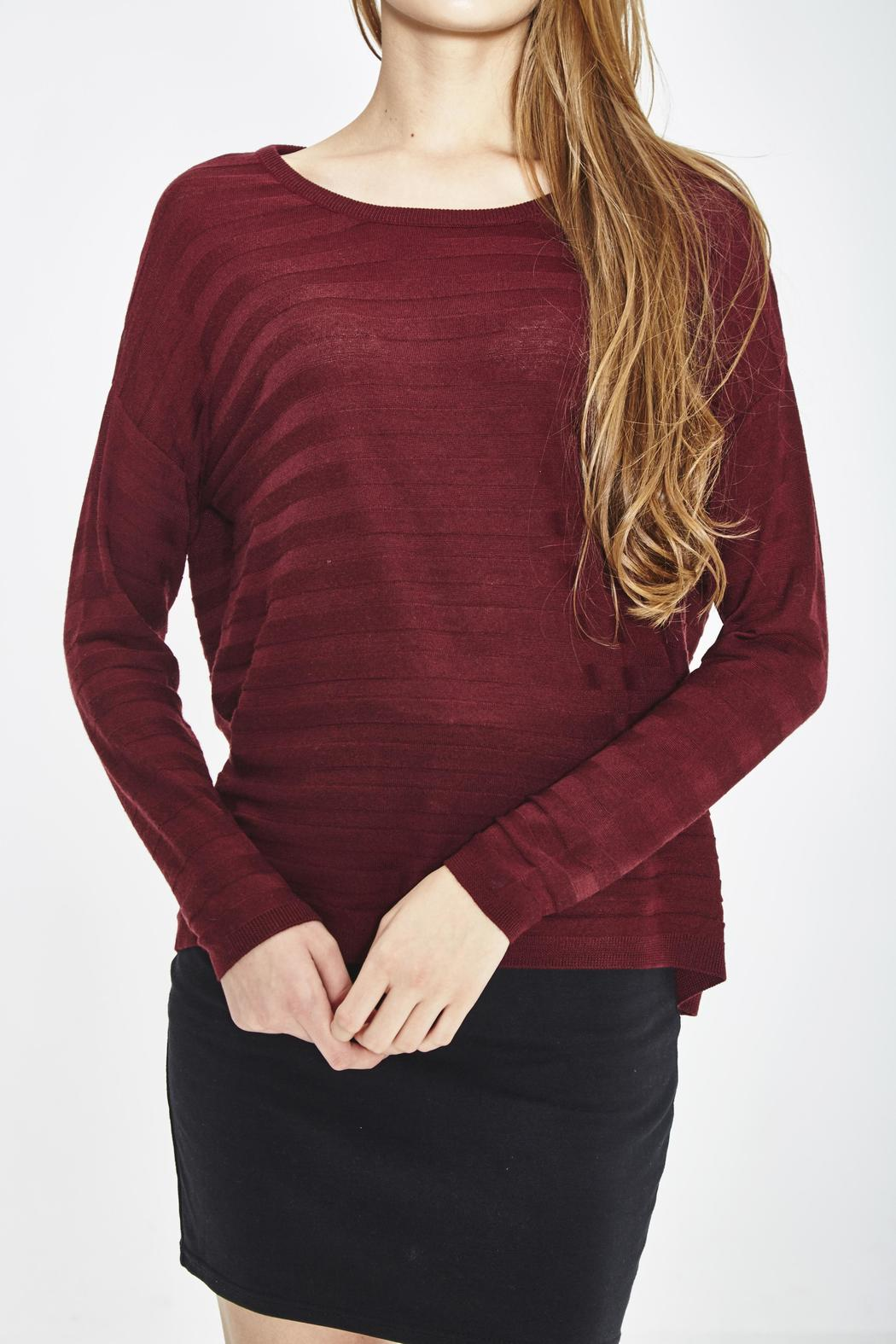 WENHUA DUVERGÉ Eco Merino Sweater - Front Cropped Image