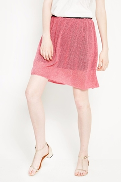 Shoptiques Product: Pink Organic Cotton Skirt