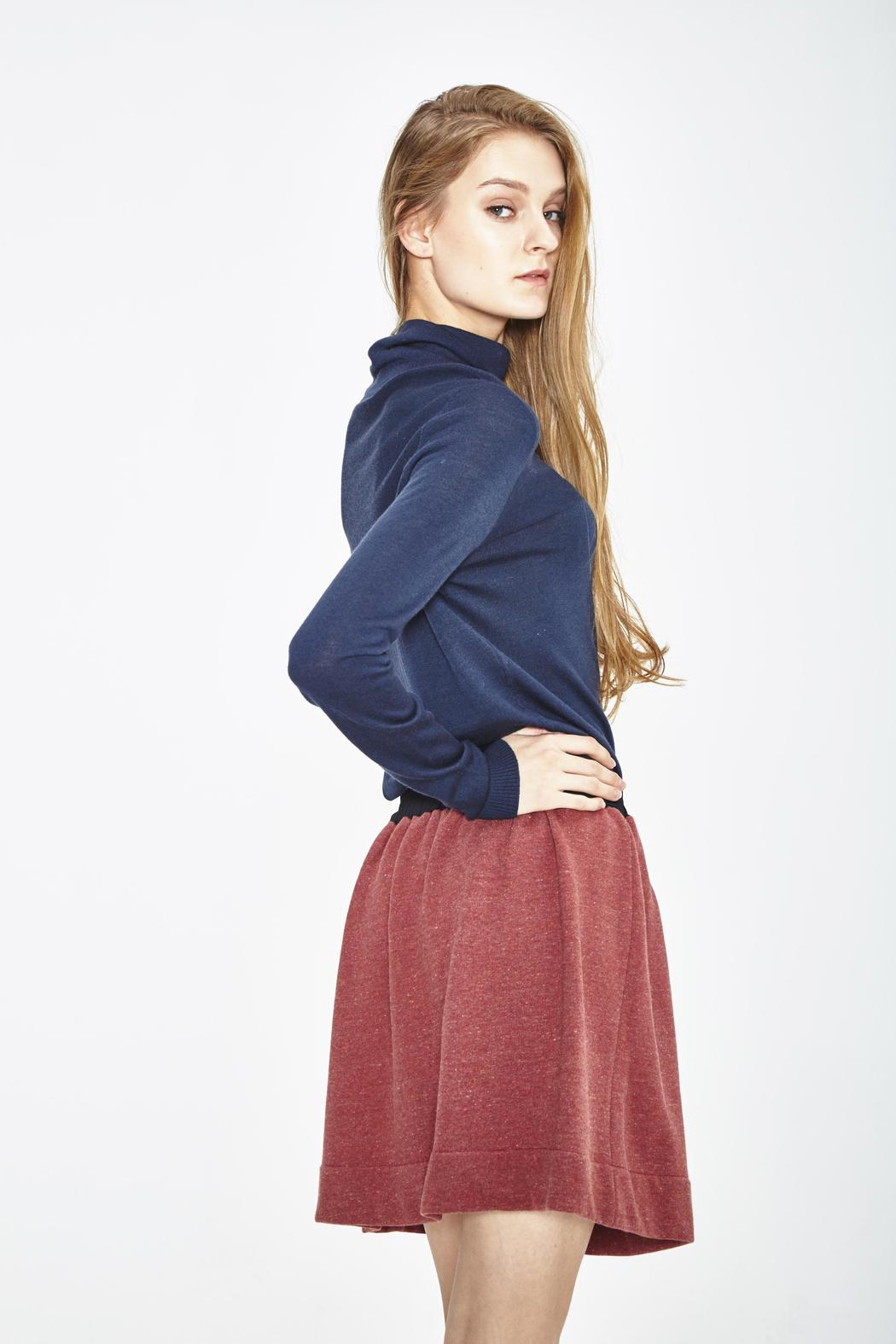 WENHUA DUVERGÉ Organic Cotton Skirt - Front Full Image