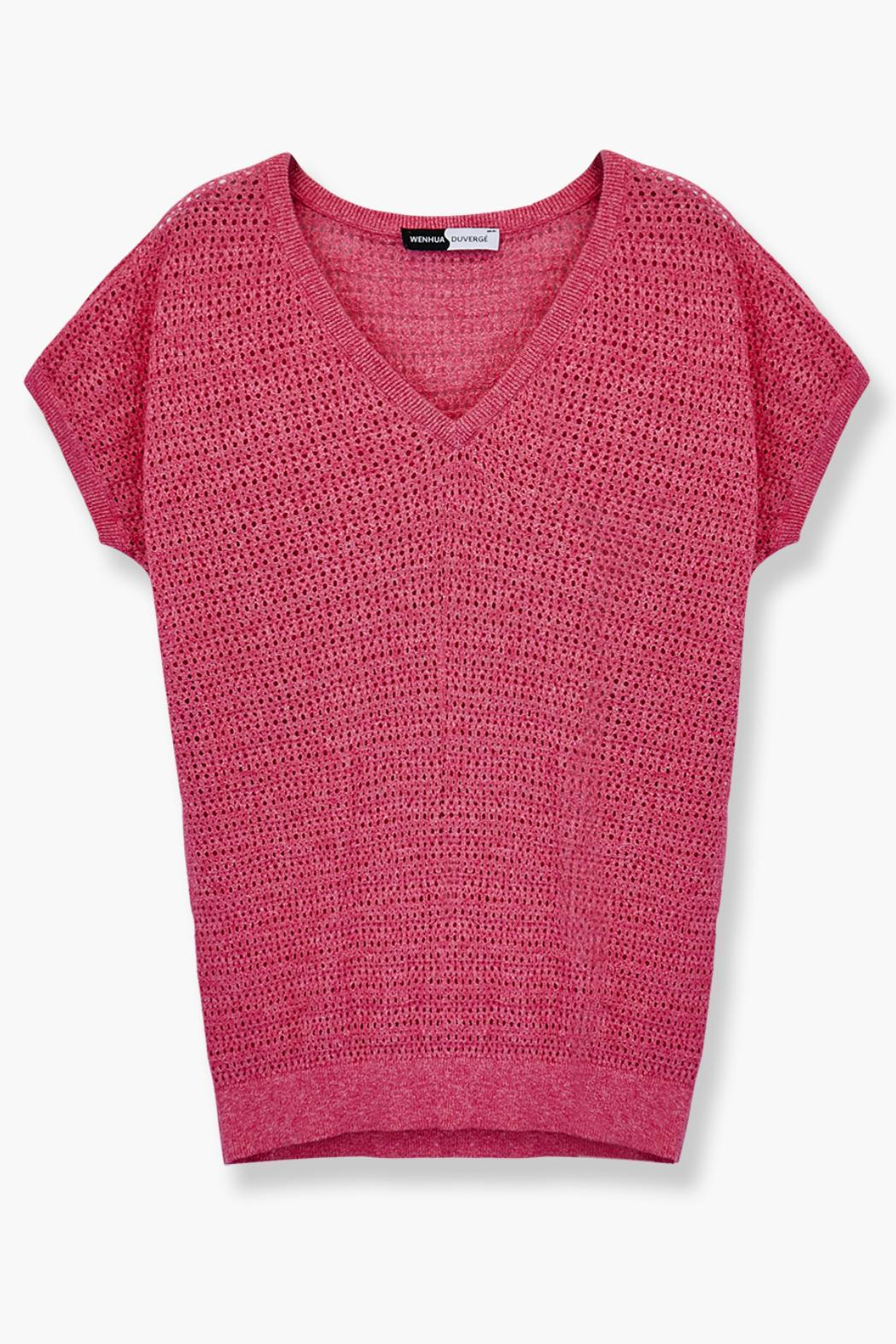 WENHUA DUVERGÉ Organic Cotton Sweater - Back Cropped Image