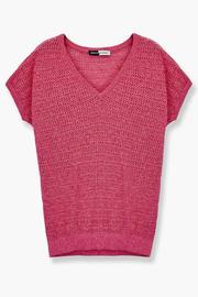 WENHUA DUVERGÉ Organic Cotton Sweater - Back cropped