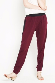 WENHUA DUVERGÉ Red Organic Cotton Sweatpants - Product Mini Image