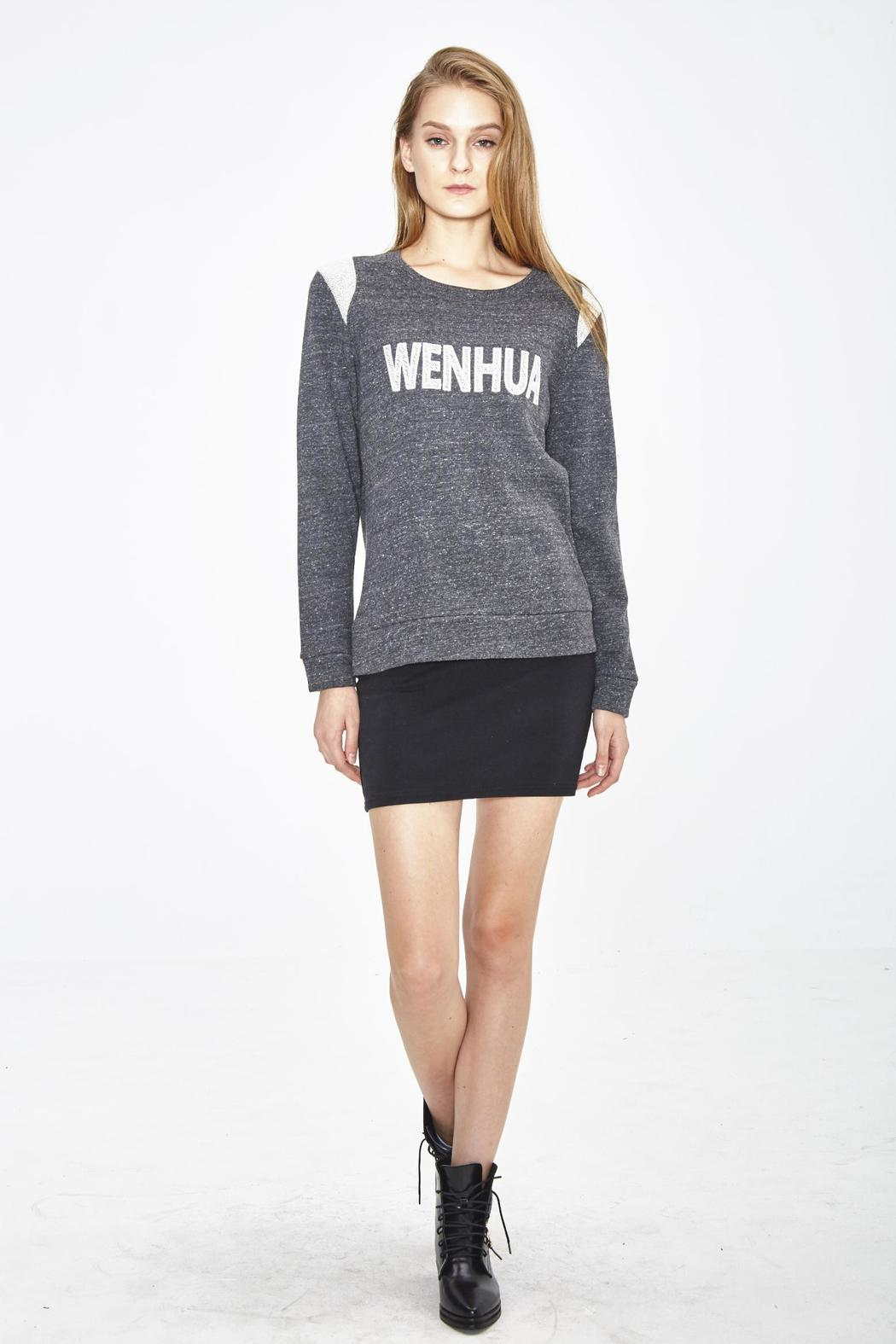 WENHUA DUVERGÉ Organic Cotton Sweatshirt - Side Cropped Image