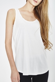 WENHUA DUVERGÉ White Organic Tank Top - Product Mini Image