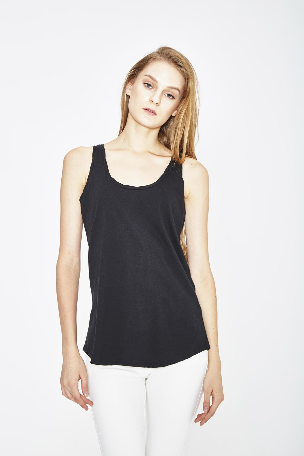 WENHUA DUVERGÉ Organic Cotton Tank - Side Cropped Image
