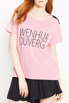 WENHUA DUVERGÉ Organic Graphic Tee - Product List Image