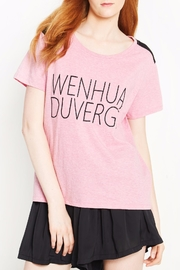 WENHUA DUVERGÉ Organic Graphic Tee - Product Mini Image