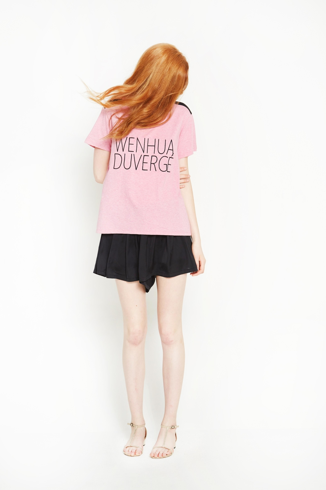 WENHUA DUVERGÉ Organic Graphic Tee - Side Cropped Image