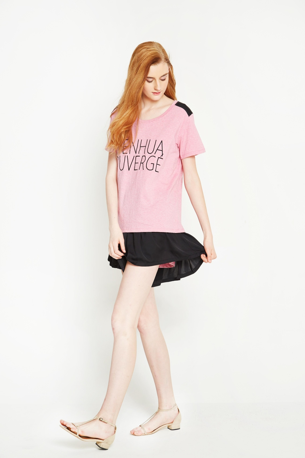 WENHUA DUVERGÉ Organic Graphic Tee - Front Full Image