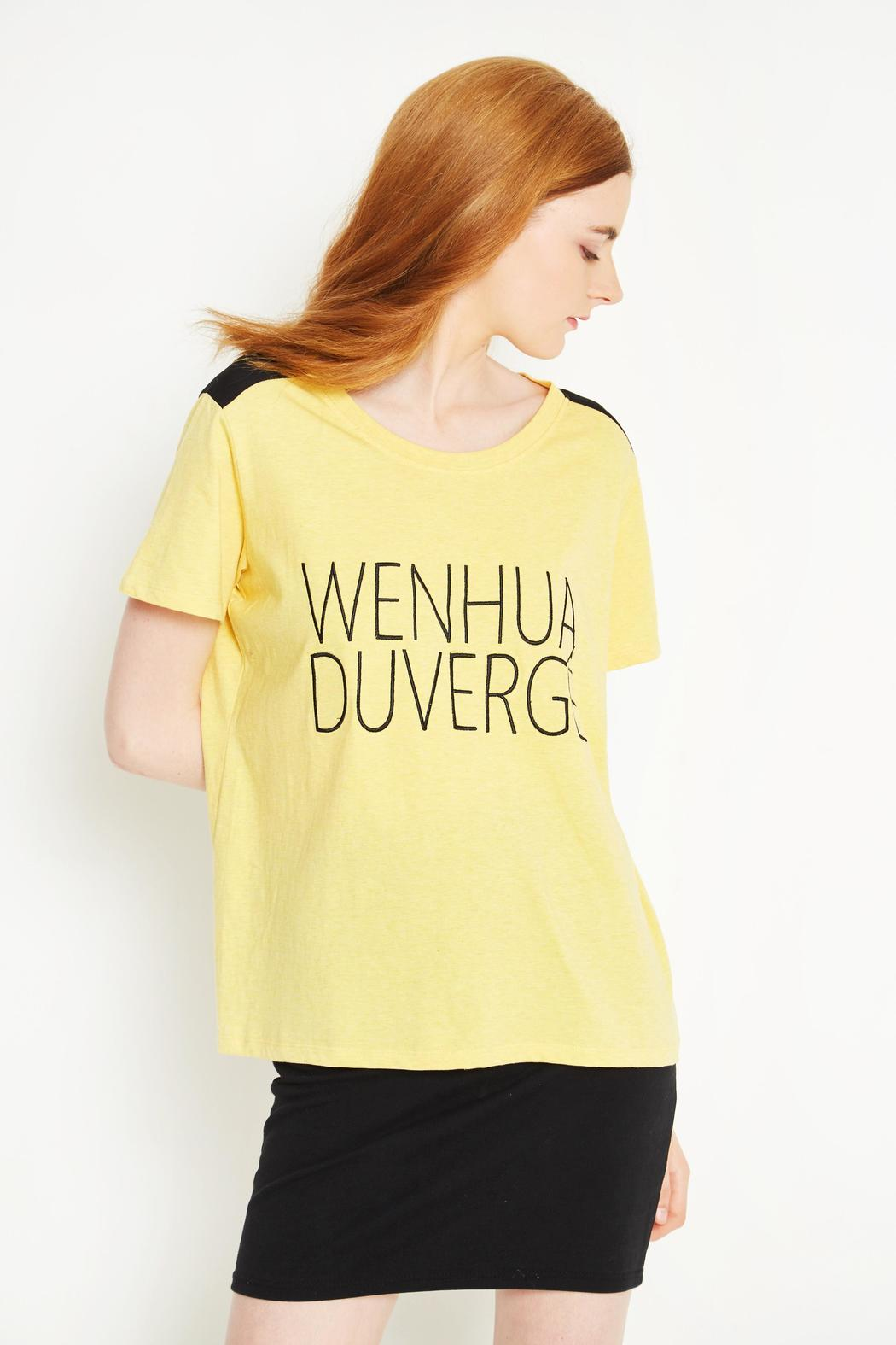 WENHUA DUVERGÉ Organic Cotton Tee - Side Cropped Image