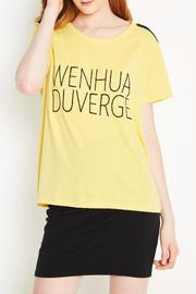 WENHUA DUVERGÉ Organic Cotton Tee - Product Mini Image