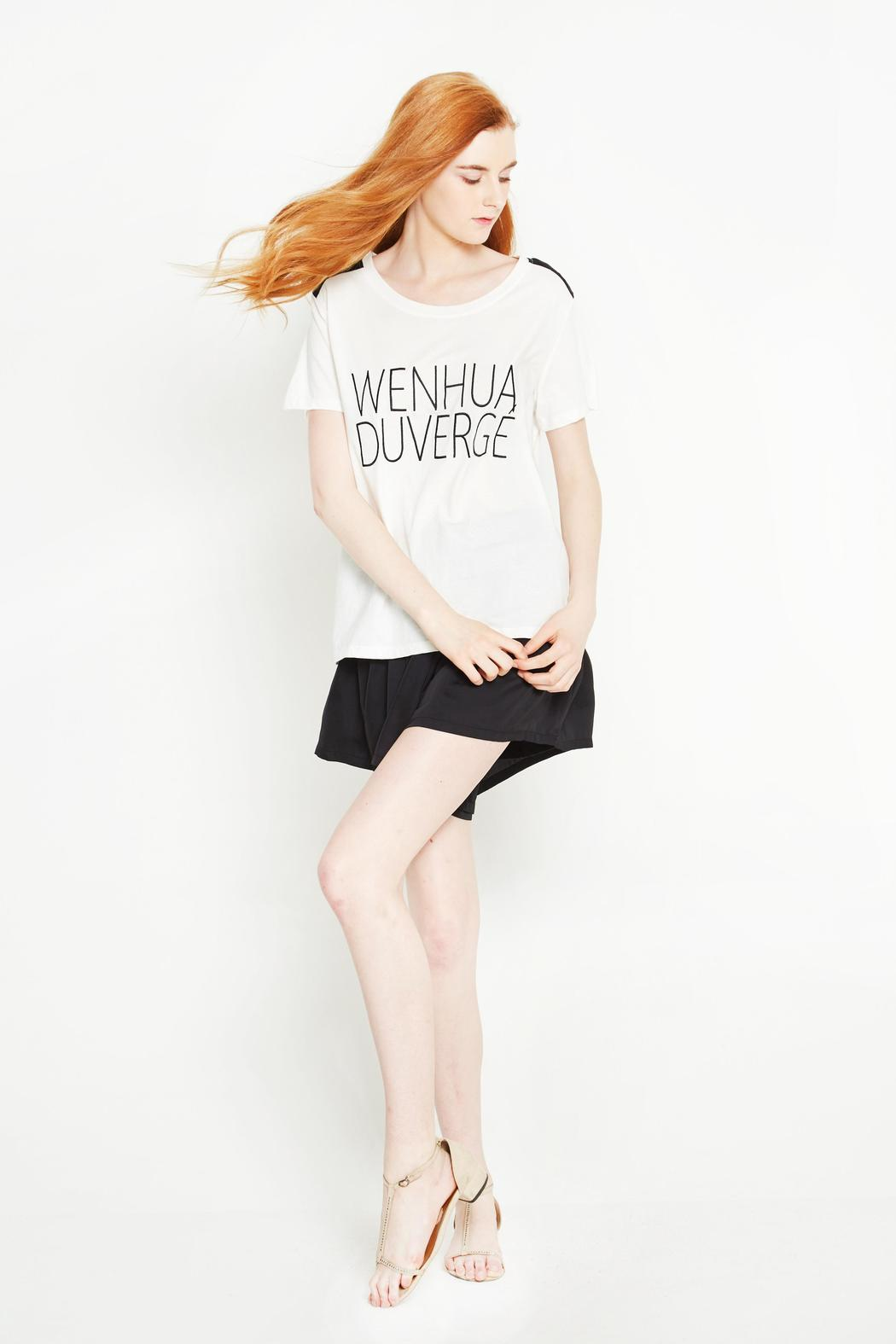 WENHUA DUVERGÉ Organic Cotton Tee - Front Full Image