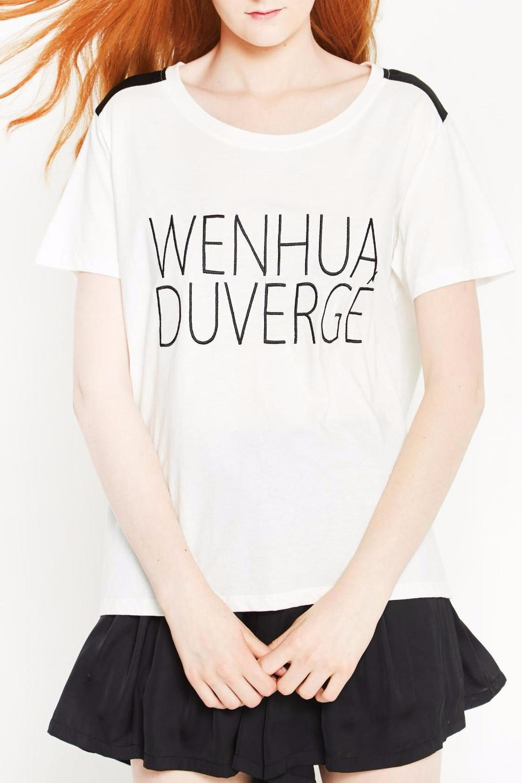 WENHUA DUVERGÉ Organic Cotton Tee - Front Cropped Image