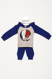 Wes and Willy Basketball Fleece Set - Product Mini Image