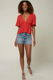 O'Neill Wes Solid Top - Back cropped