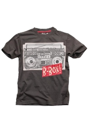 Wes and Willy B-Box Patches Tee - Product Mini Image