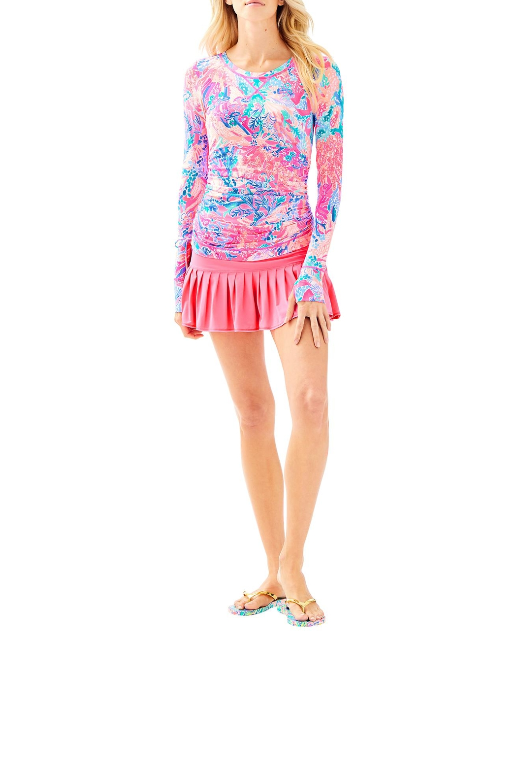 Lilly Pulitzer Weslee Convertible Sunguard - Side Cropped Image