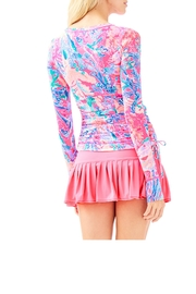 Lilly Pulitzer Weslee Convertible Sunguard - Front full body