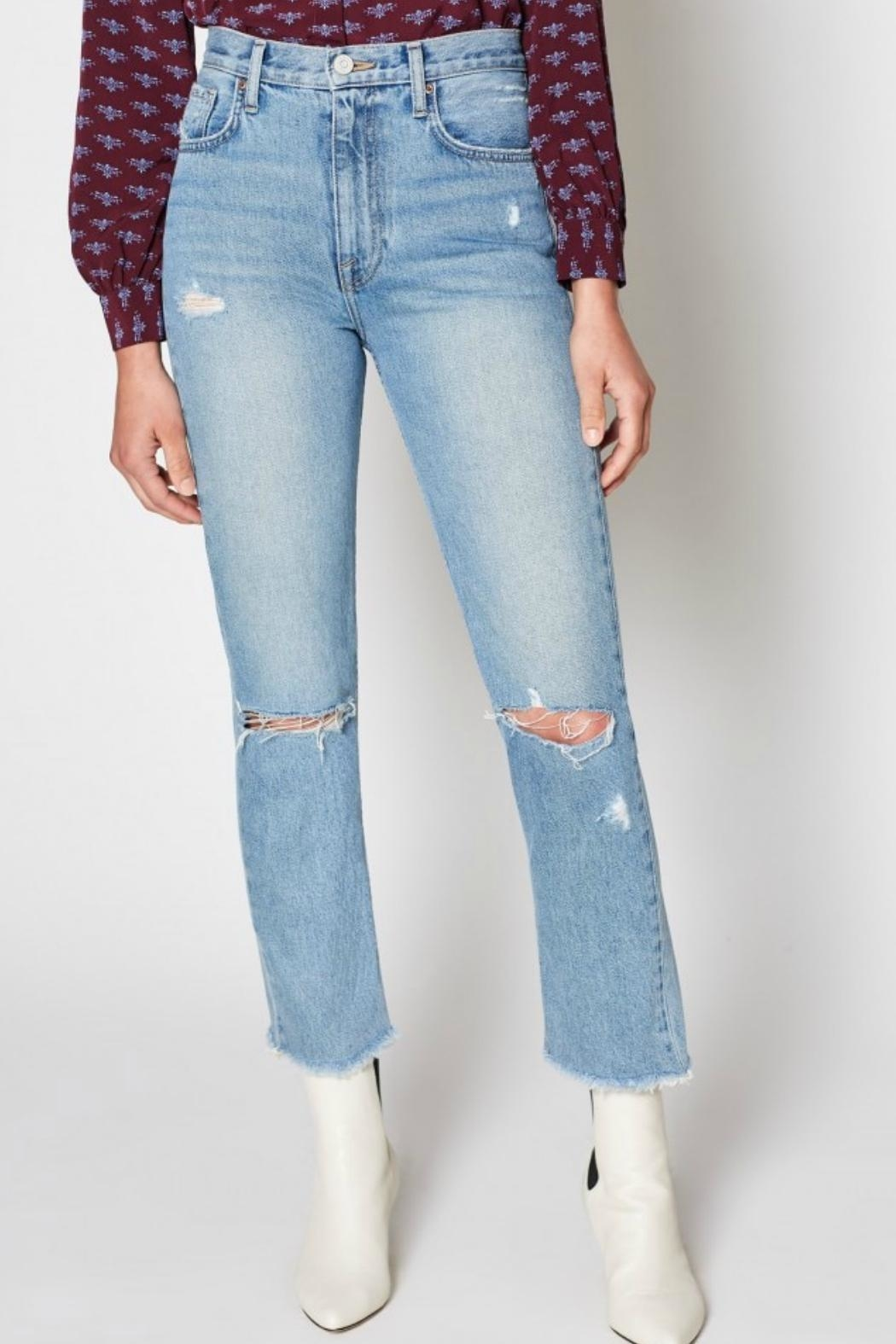 Joie Weslyn Distressed Jeans - Main Image