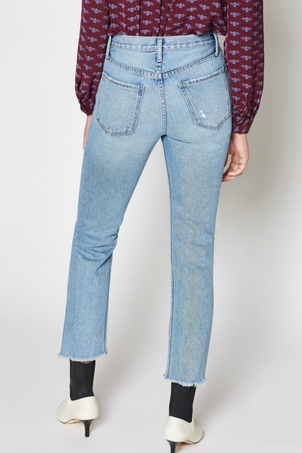 Joie Weslyn Distressed Jeans - Back Cropped Image