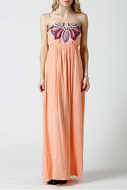 west 36th  Strapless Peach Dress - Product Mini Image