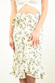 West Diva Floral Wrap Skirt - Product Mini Image