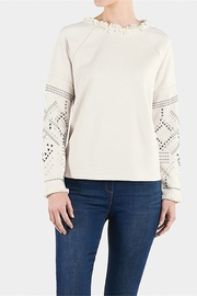 Coco + Carmen WESTBROOK STUDDED SWEATSHIRT - Product Mini Image