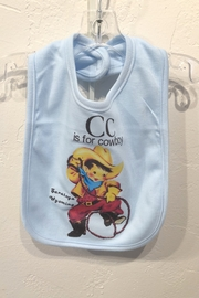 Hank's Bunkhouse Western Bib for Babies - Front cropped