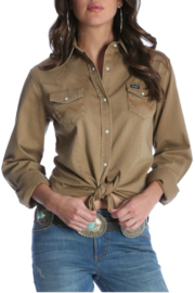 Wrangler Western Button Up - Product Mini Image