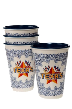 One Hundred Eighty Degrees Western-Cowboy-Texas Cup Set - Product List Image