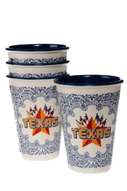 One Hundred Eighty Degrees Western-Cowboy-Texas Cup Set - Product Mini Image