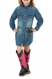 Wrangler Western Denim Dress - Product Mini Image