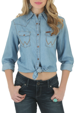 Wrangler Western Denim Shirt - Product List Image