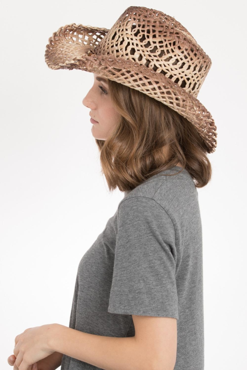 Peter Grimm Western Drifter Hat - Front Full Image