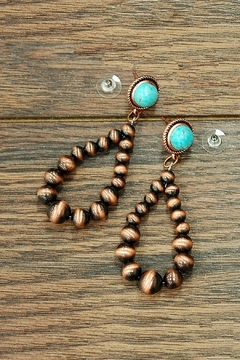 JChronicles Western-Navajo Pearl Earring - Product List Image
