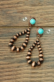 JChronicles Western-Navajo Pearl Earring - Product Mini Image