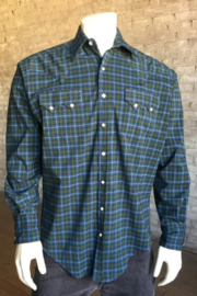 Rockmount Western Plaid Shirt - Front cropped