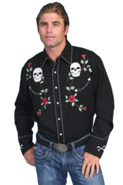 Scully  Western Scull Shirt - Product Mini Image
