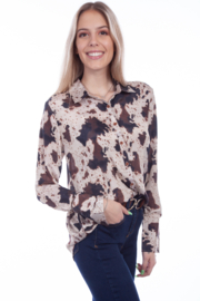 Scully  Western Yolk Blouse - Product Mini Image