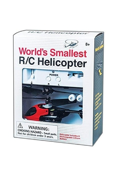 Westminster World's Smallest Helicopter Red - Product List Image