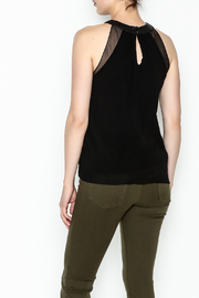 Weston Black Milan Top - Back cropped