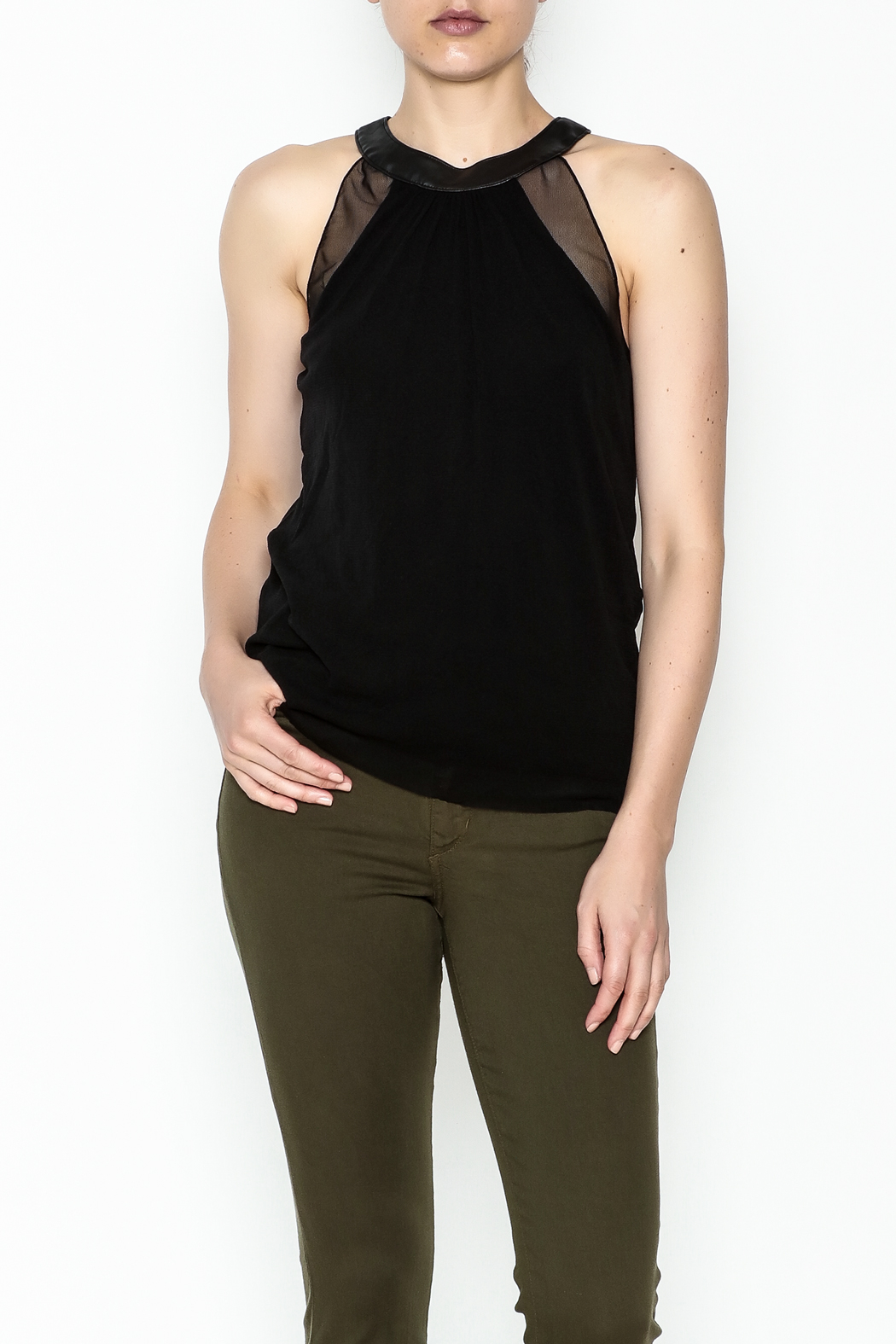 Weston Black Milan Top - Front Cropped Image