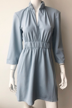 Tibi Weston Shirred Dress - Alternate List Image
