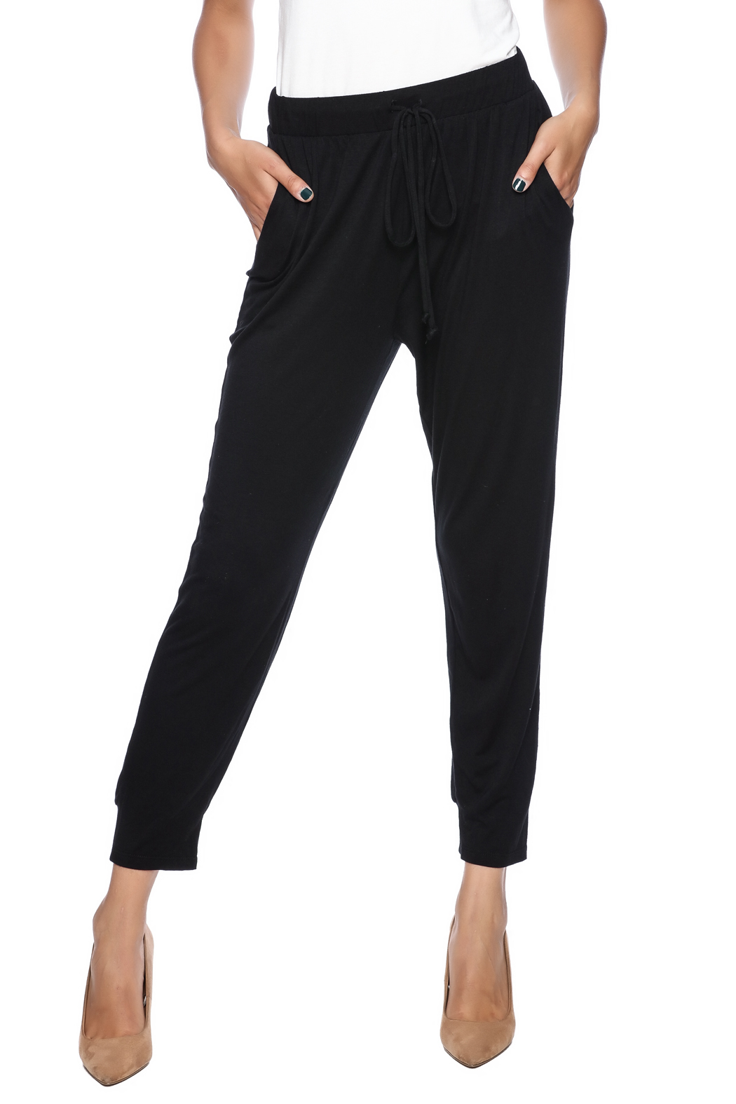 Weston Wear Black Kendra Pants - Front Cropped Image